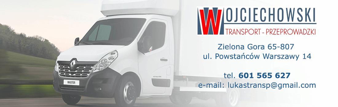 Dodatkowe Transport i przeprowadzki Zielona Góra 601 565 627 WE36